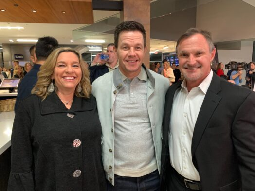 Meeting Mark Wahlberg, producer of McMillions