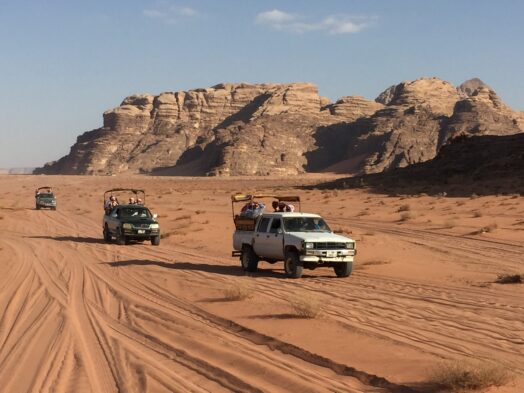 Wadi Rum is one of the best vacation spots in Jordan