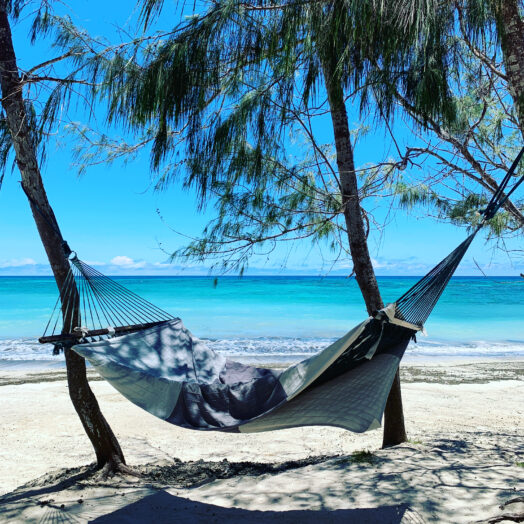 hammock at Turtle Island, Fiji