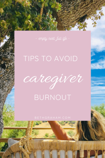 How to avoid caregiver burnout