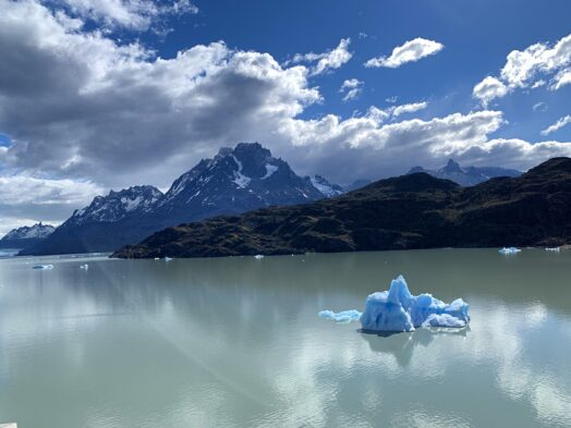 Be sure to see the icebergs when visiting Patagonia.