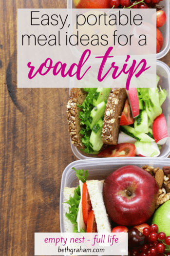 Try these recipes for healthy food ideas for road trips.